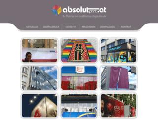 absolutprint.at screenshot