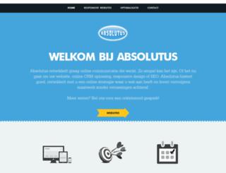 absolutus.nl screenshot