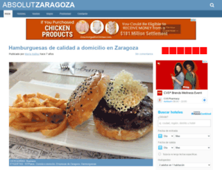absolutzaragoza.com screenshot