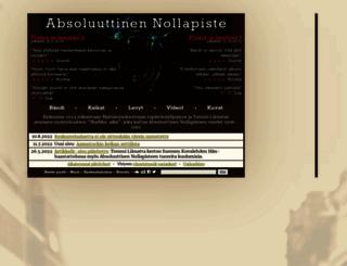 absoluuttinennollapiste.fi screenshot