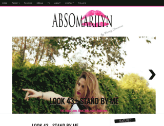 absomarilyn.com screenshot