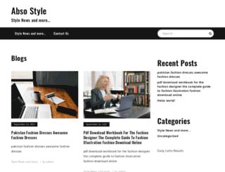 absostyle.com screenshot