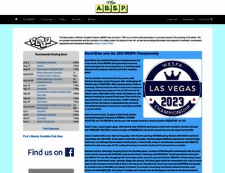absp.org.uk screenshot