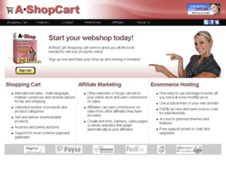 absplittesting.ashopcart.com screenshot
