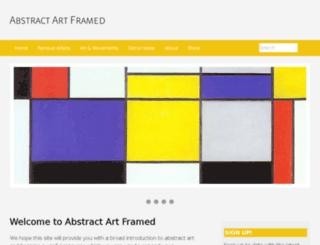 abstract-art-framed.com screenshot