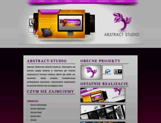 abstract-studio.pl screenshot