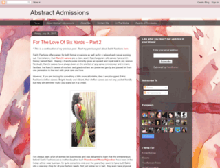 abstractadmissions.blogspot.ae screenshot