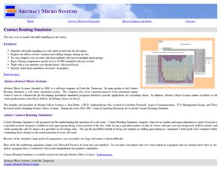 abstractmicro.com screenshot
