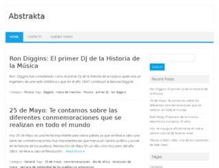 abstraktablog.com screenshot