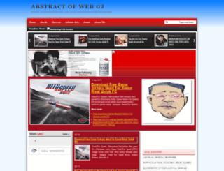 abstrakweb.blogspot.com screenshot