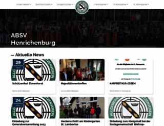 absv-henrichenburg.de screenshot