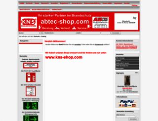 abtec-shop.com screenshot