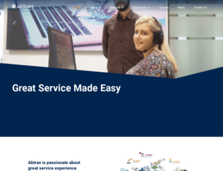 abtran.com screenshot