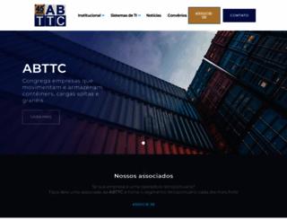 abttc.org.br screenshot