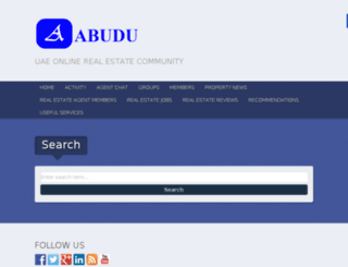 abu-du.com screenshot