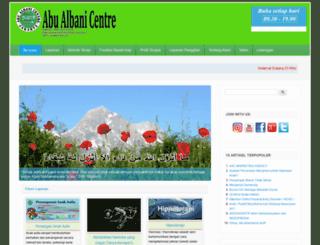 abualbanicentre.com screenshot