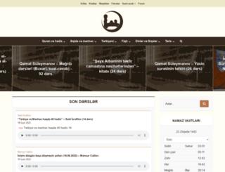 abubakr-mescidi.com screenshot