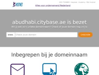 abudhabi.citybase.ae screenshot