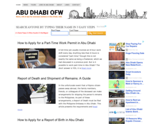 abudhabiofw.com screenshot