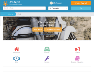 abuja.anunico.com.ng screenshot