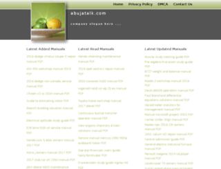 abujatalk.com screenshot