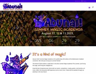 abunaicon.nl screenshot