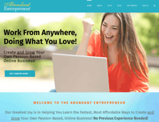 abundantentrepreneur.com screenshot