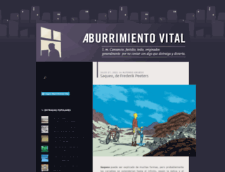aburrimientovital.wordpress.com screenshot