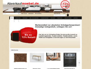 abverkaufmoebel.de screenshot
