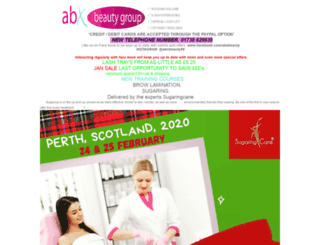 abxbeauty.com screenshot