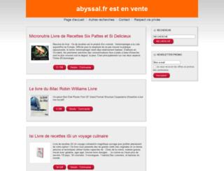 abyssal.fr screenshot