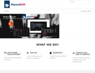 abyssalsoft.com screenshot