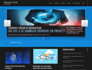 abysse-tech.com screenshot