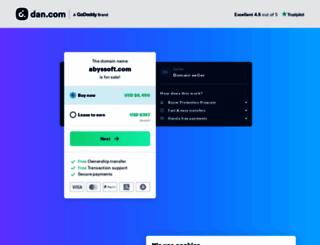 abyssoft.com screenshot