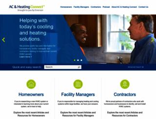 ac-heatingconnect.com screenshot