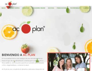 ac-plan.com.mx screenshot