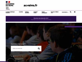 ac-reims.fr screenshot