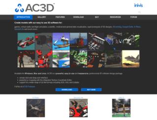 ac3d.org screenshot