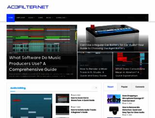 ac3filter.net screenshot