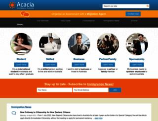 acacia-au.com screenshot