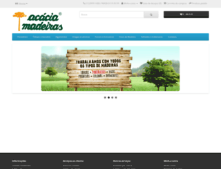 acaciamadeiras.com.br screenshot