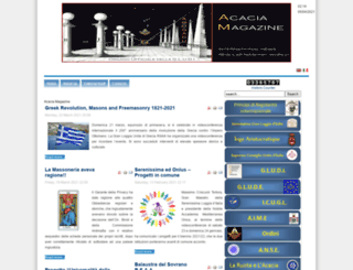 acaciamagazine.org screenshot