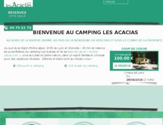 acacias.sa-cim.fr screenshot