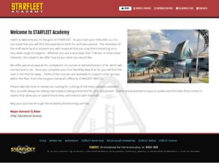 acad.sfi.org screenshot