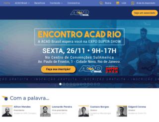 acadbrasil.com.br screenshot