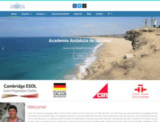 academia.andaluza.net screenshot
