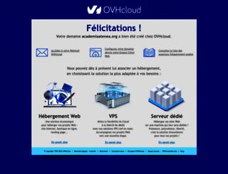academiaatenea.org screenshot