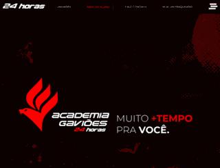 academiagavioes.com.br screenshot