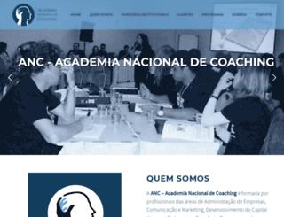 academianacionaldecoaching.com.br screenshot