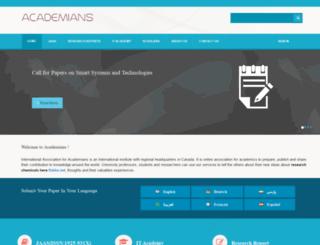 academians.org screenshot